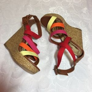 🔥Final Price🔥 Herstyle multi color wedge sandals